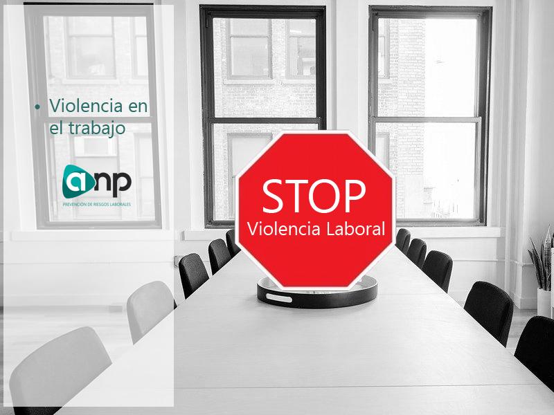 Stop violencia en el trabajo
