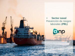 PRL en el sector naval